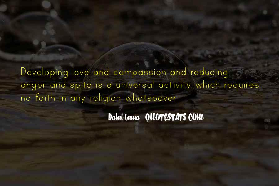 Quotes About Spite And Love #1337511