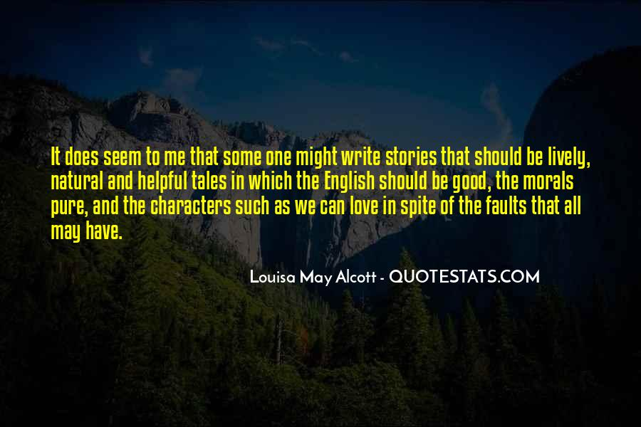 Quotes About Spite And Love #1546911