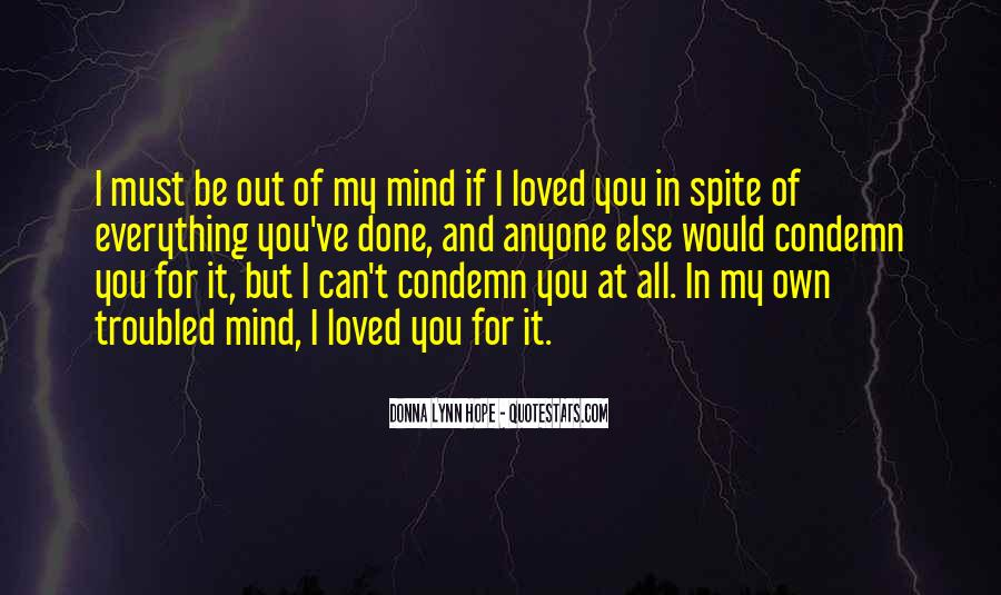 Quotes About Spite And Love #1803047