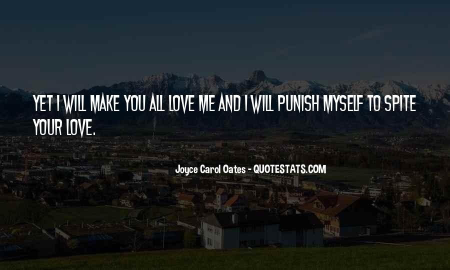 Quotes About Spite And Love #70400