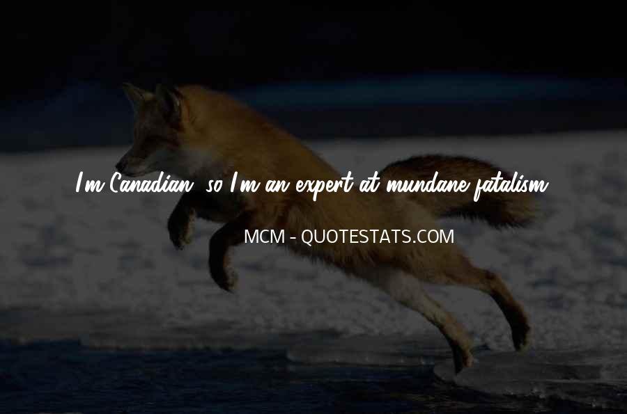 Fatalism's Quotes #103047