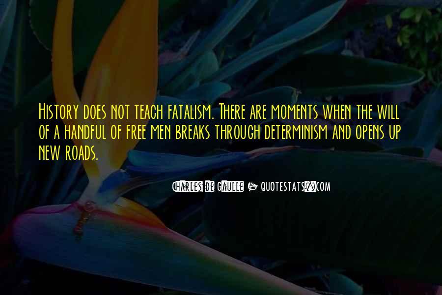 Fatalism's Quotes #1109916