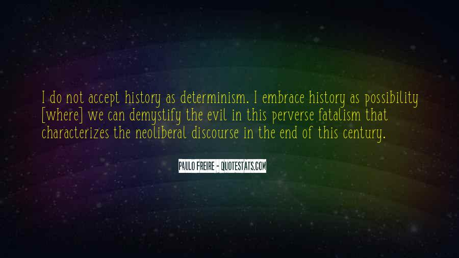 Fatalism's Quotes #1235252