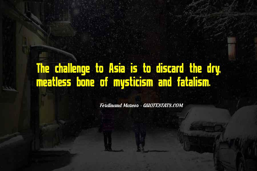 Fatalism's Quotes #124276