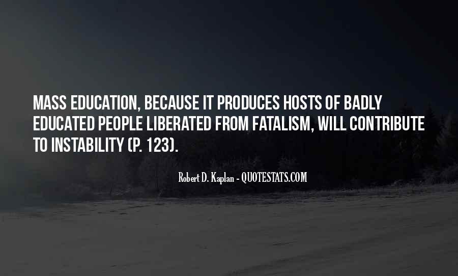 Fatalism's Quotes #1310309