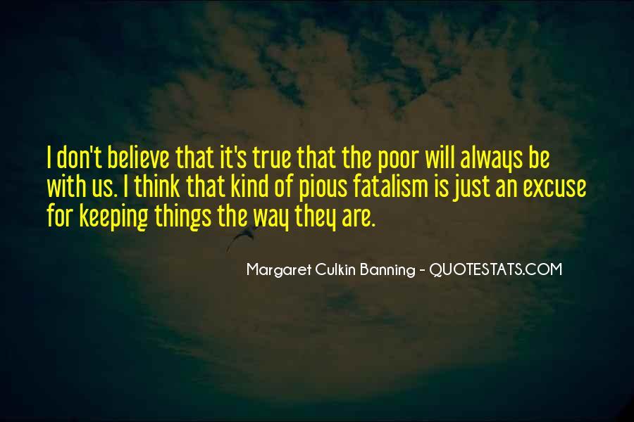 Fatalism's Quotes #1432948