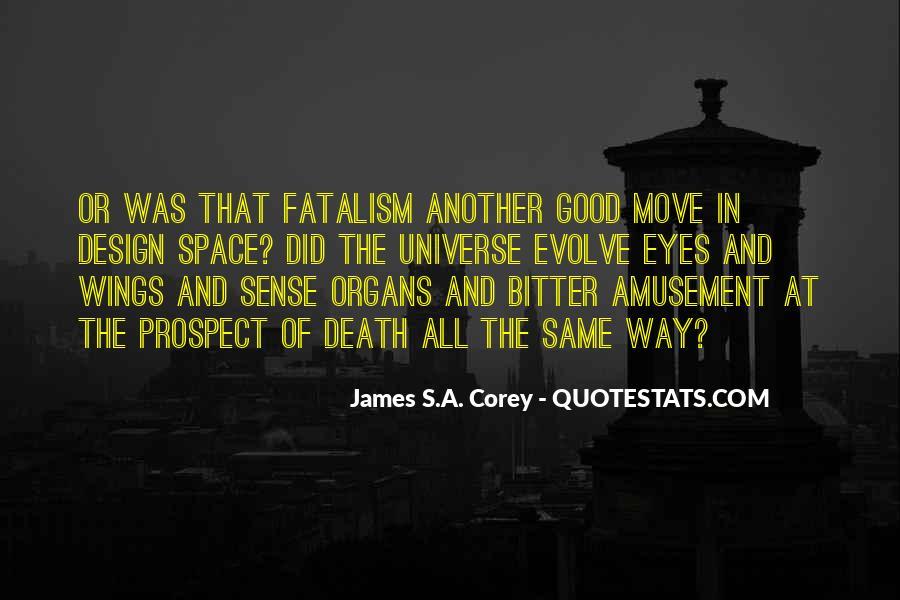 Fatalism's Quotes #1605862