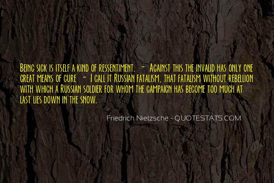 Fatalism's Quotes #180582