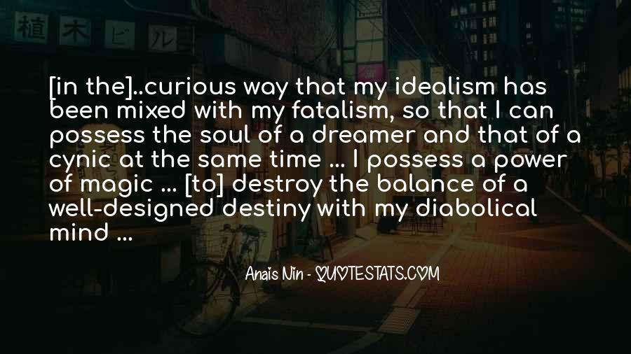 Fatalism's Quotes #1846789