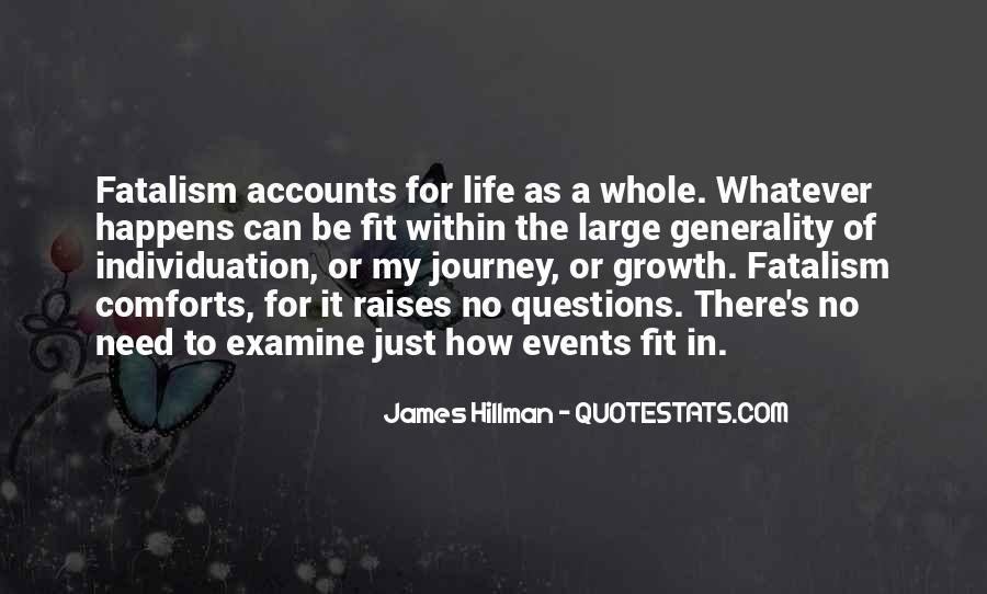 Fatalism's Quotes #258631