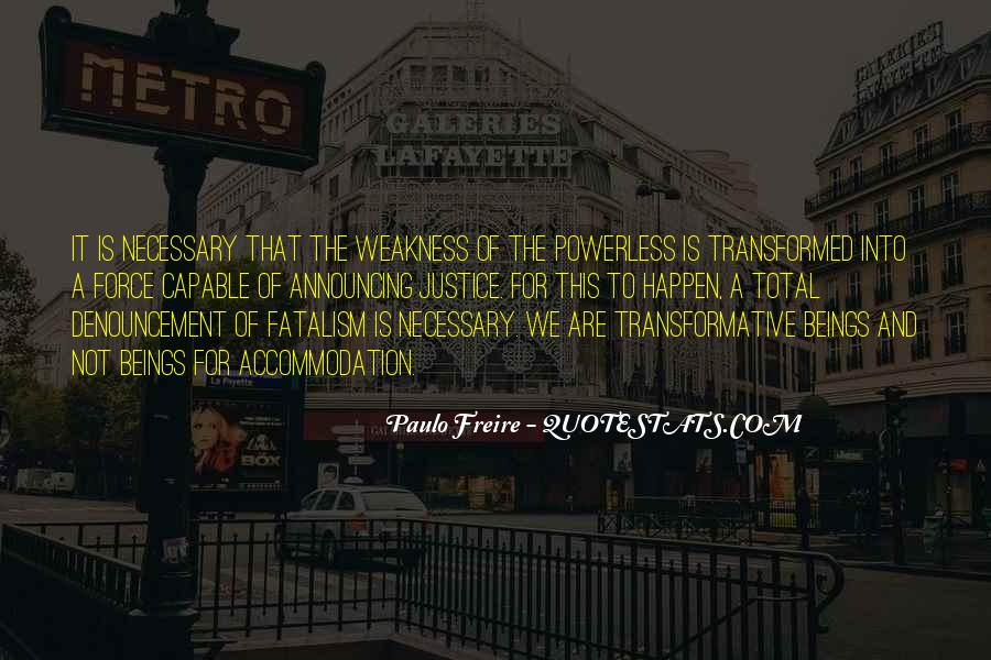 Fatalism's Quotes #259546