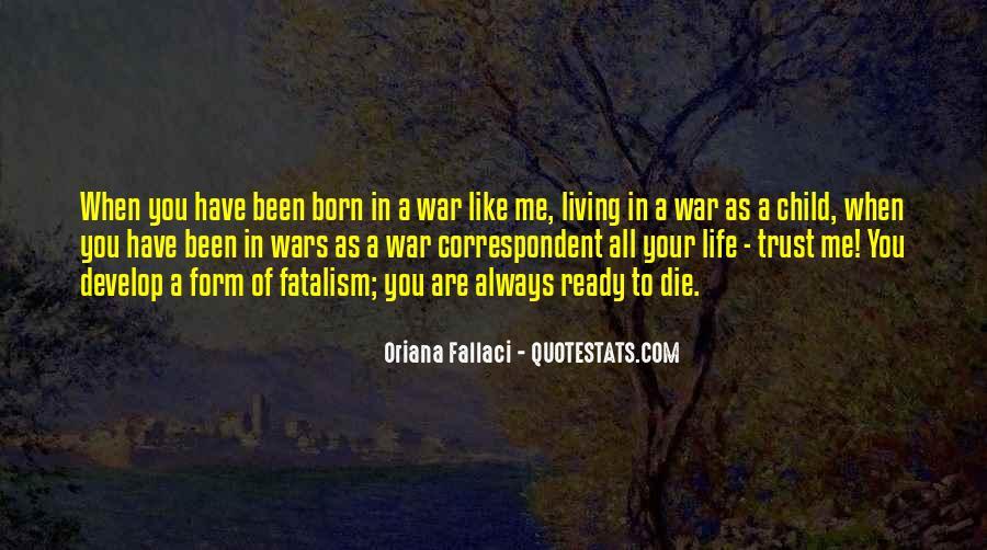 Fatalism's Quotes #402974