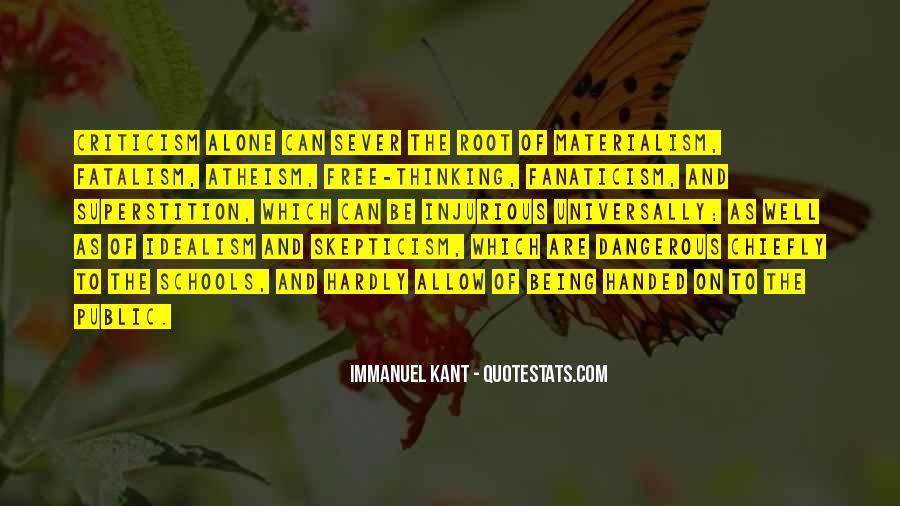 Fatalism's Quotes #464536