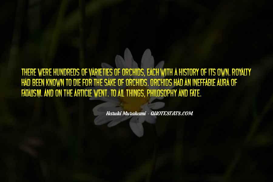 Fatalism's Quotes #903530