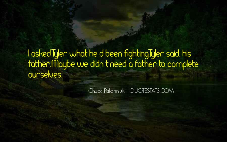 Father'd Quotes #56417