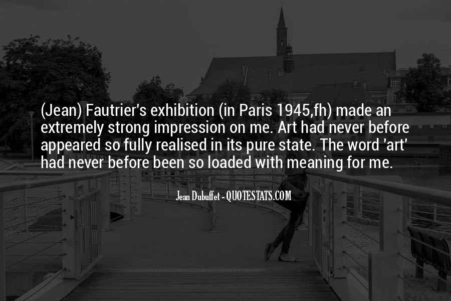 Fautrier's Quotes #440840