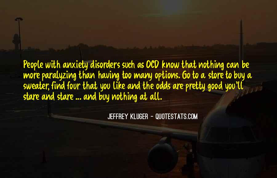 Quotes About Ocd And Anxiety #1575087