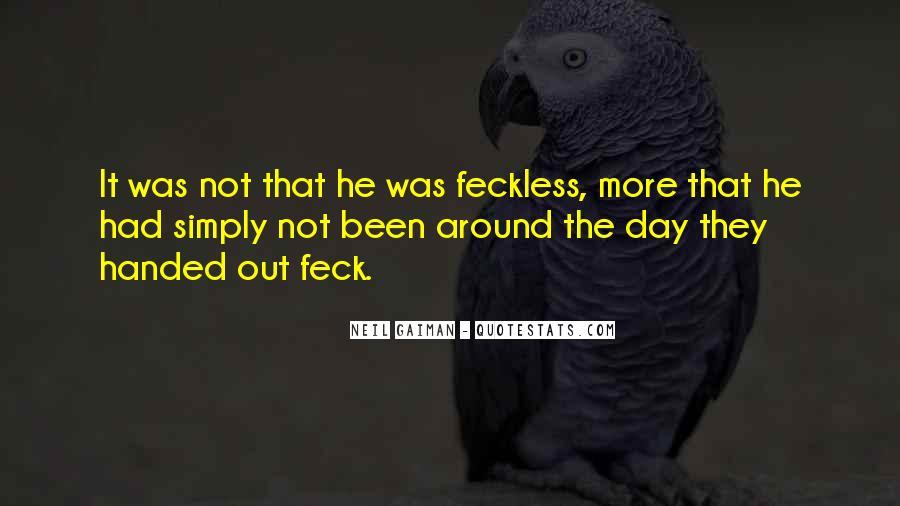 Feck Quotes #1219010
