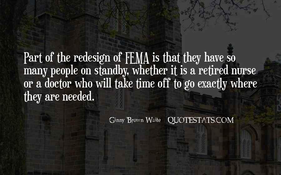 Fema Quotes #1555617
