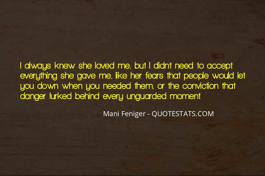 Feniger Quotes #500485
