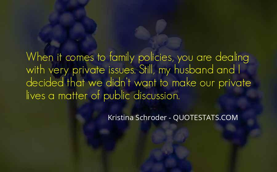 Quotes About Issues With Family #1328602