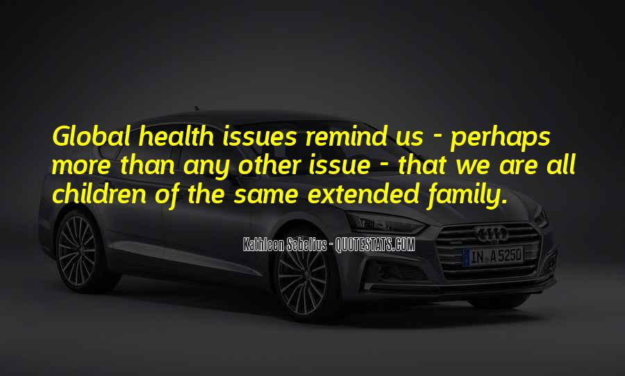 Quotes About Issues With Family #160566