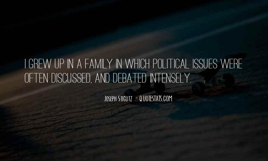 Quotes About Issues With Family #1749057