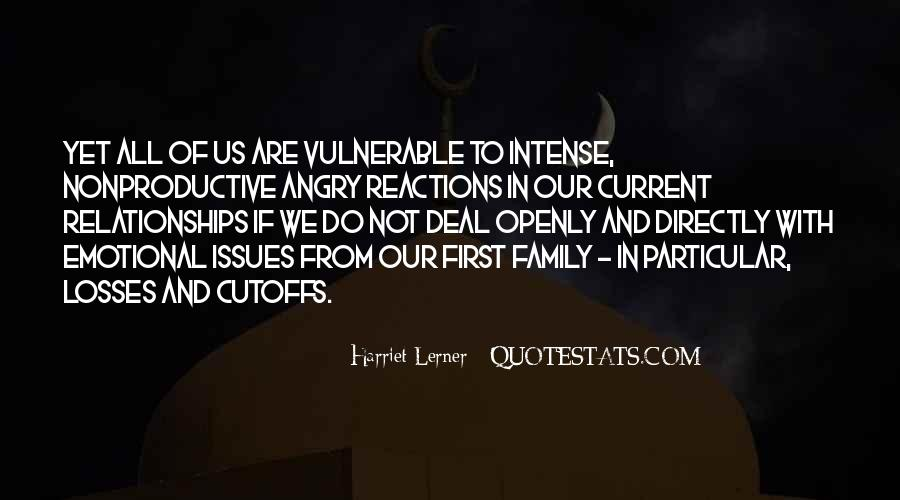 Quotes About Issues With Family #204709