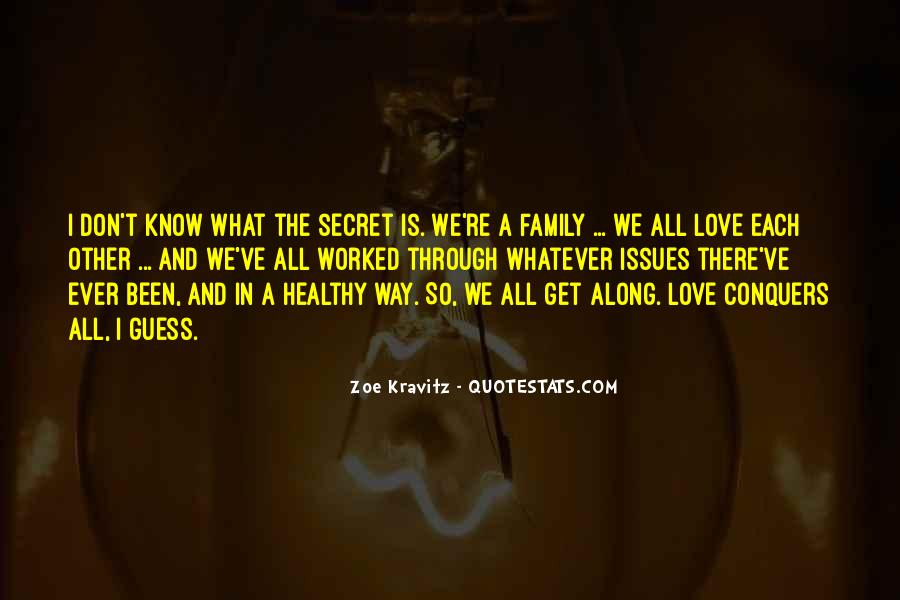 Quotes About Issues With Family #677560