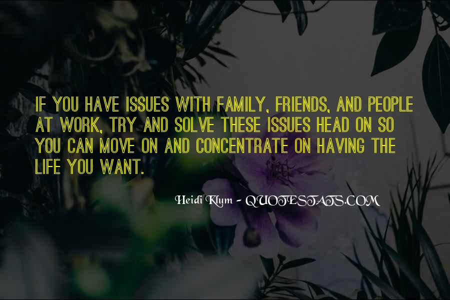 Quotes About Issues With Family #915840