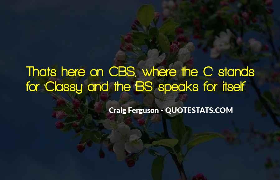 Ferguson's Quotes #424752