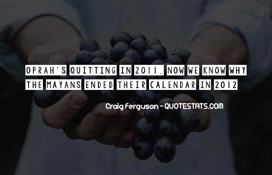 Ferguson's Quotes #495569