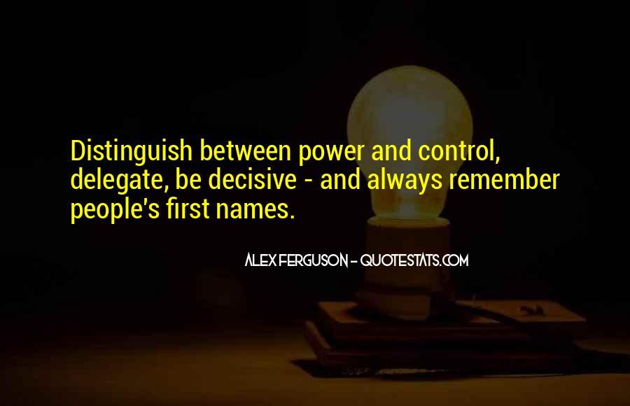 Ferguson's Quotes #695142