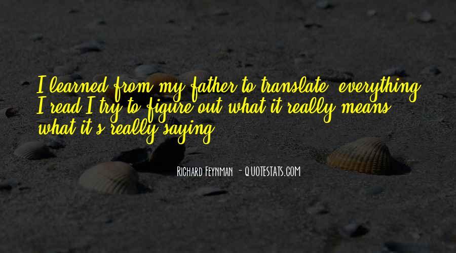 Feynman's Quotes #341402