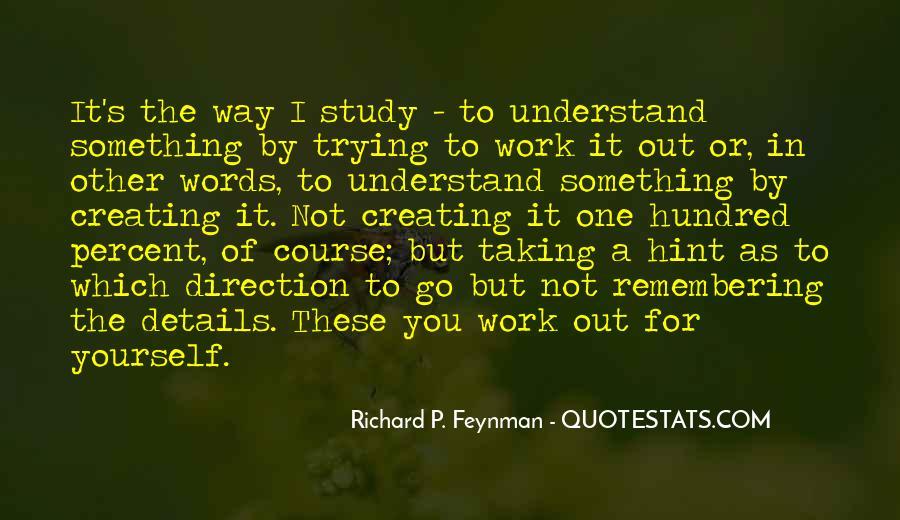 Feynman's Quotes #370190