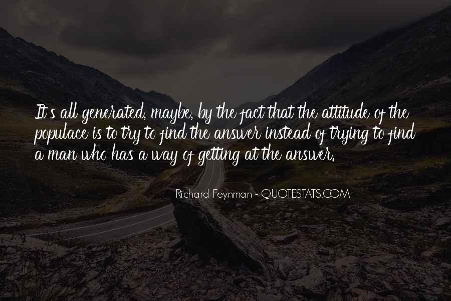 Feynman's Quotes #658605