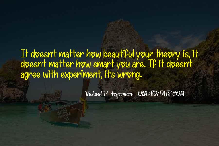 Feynman's Quotes #785570