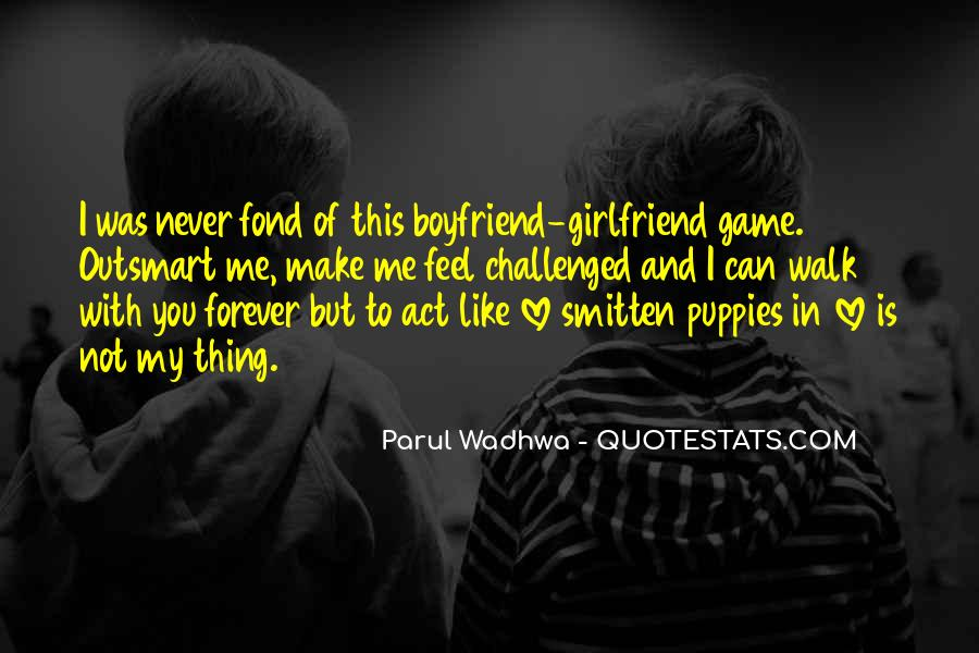 Quotes About Boyfriend And Girlfriend Love #1236648