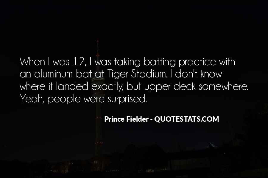 Fielder Quotes #1828106