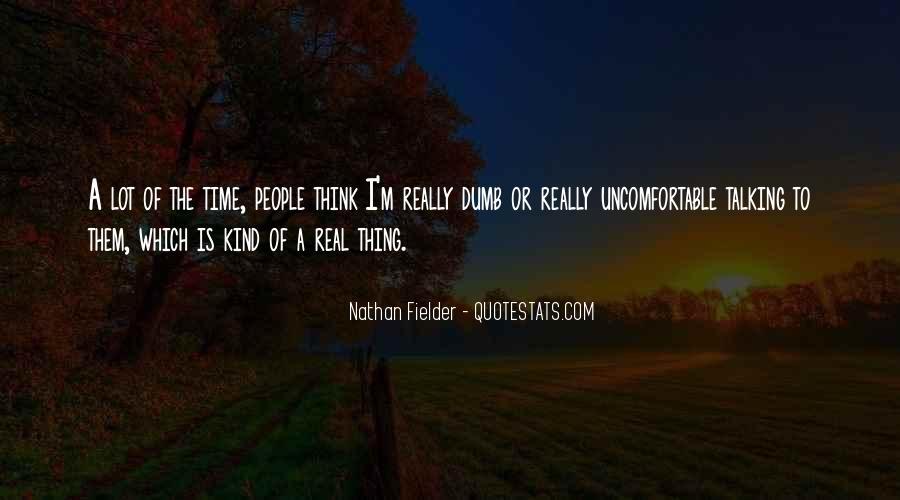 Fielder Quotes #828704