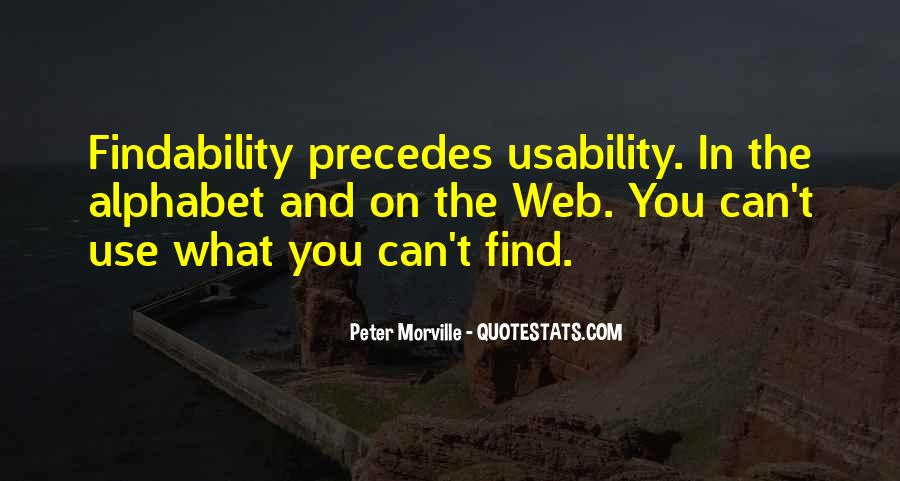 Findability Quotes #919892
