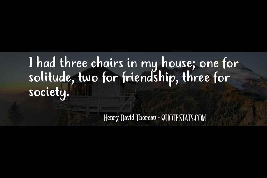Quotes About Solitude From Henry David Thoreau #1090483