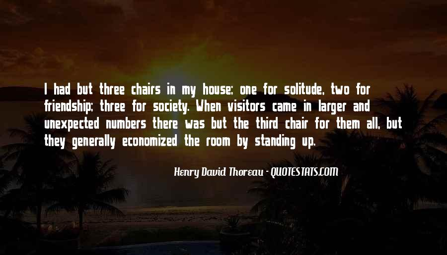 Quotes About Solitude From Henry David Thoreau #70495