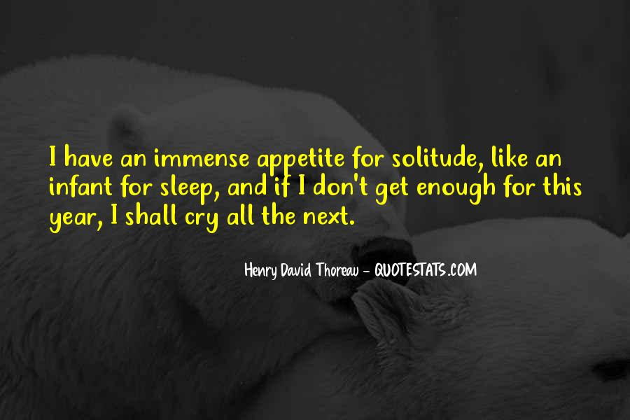 Quotes About Solitude From Henry David Thoreau #872424