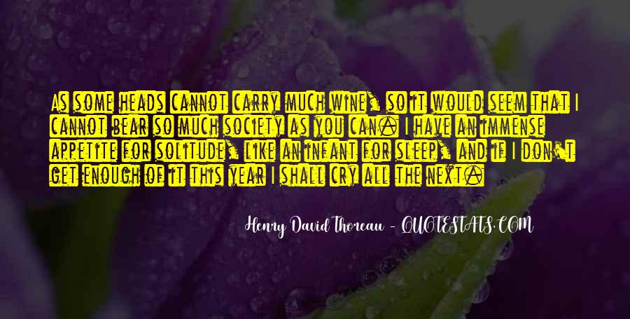 Quotes About Solitude From Henry David Thoreau #91854