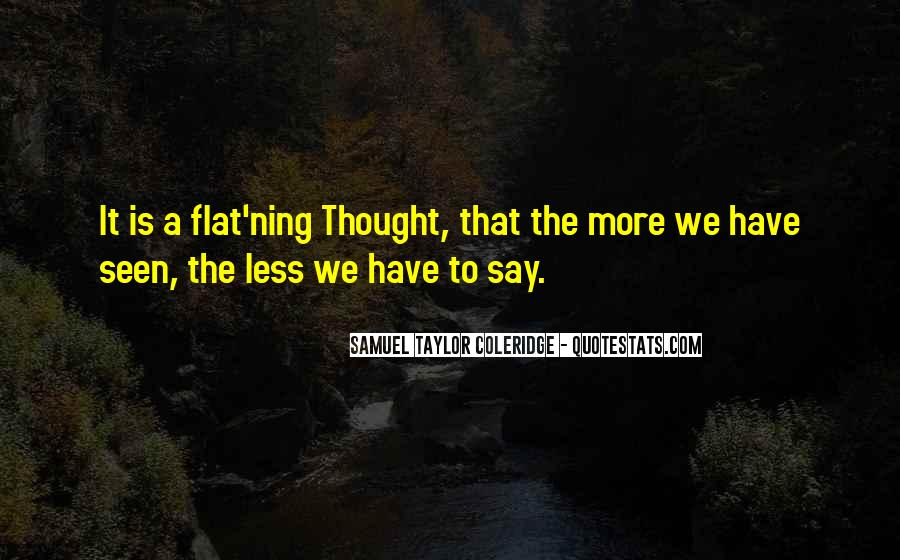 Flat'ning Quotes #1769272