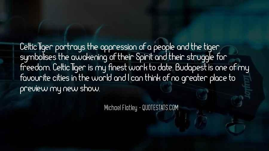 Flatley Quotes #1520831