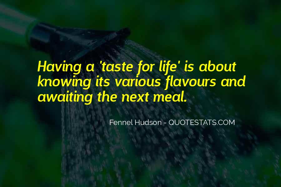 Flavours Quotes #314992
