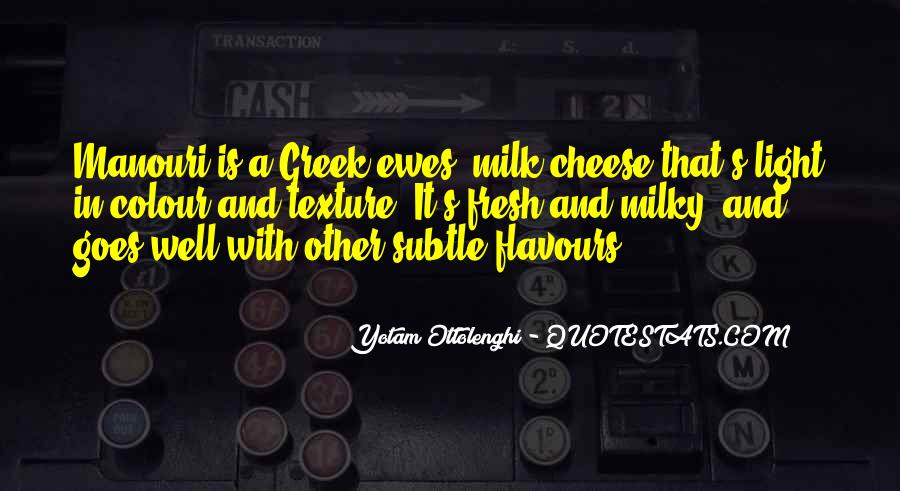 Flavours Quotes #614040