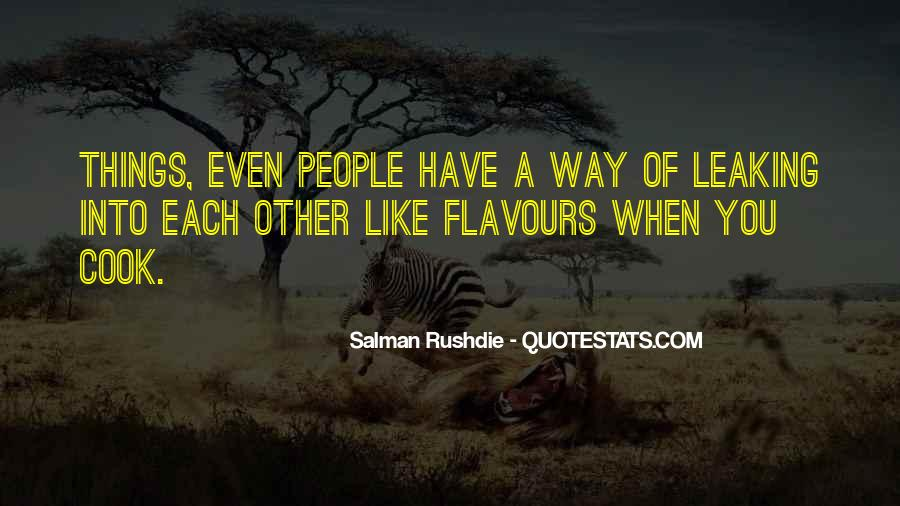 Flavours Quotes #691714